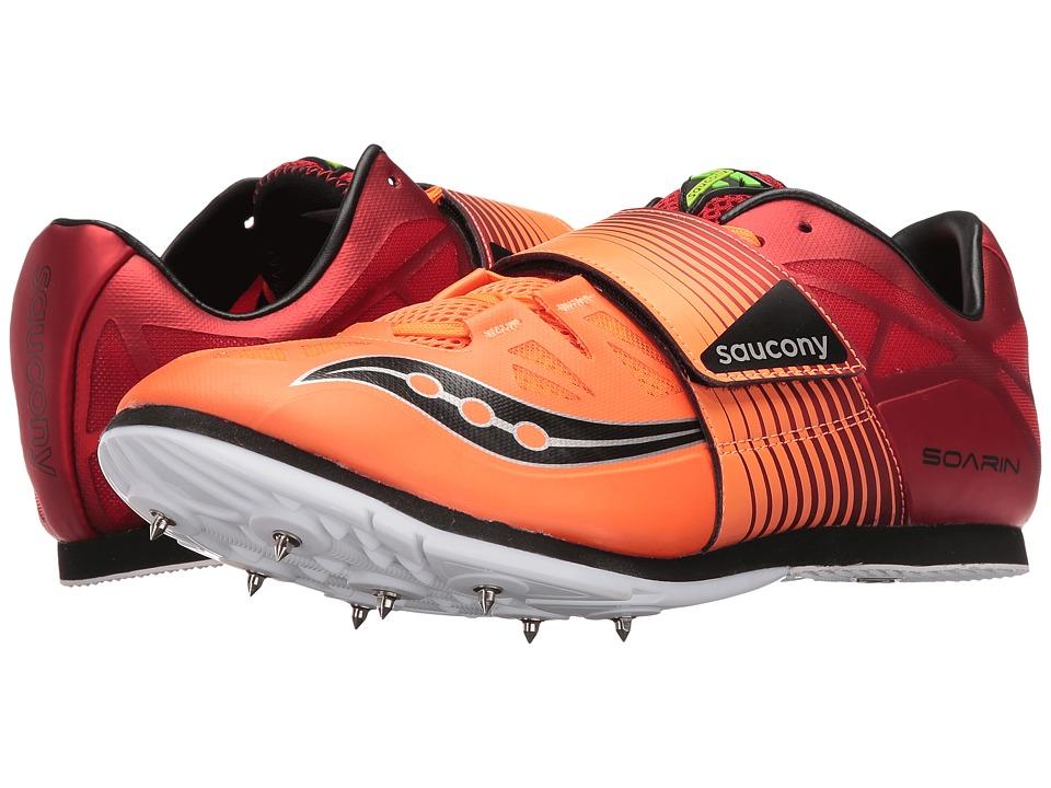 Saucony Soarin J2 (Red/Vizi Orange) Men