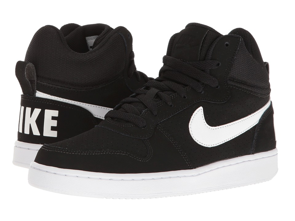 Nike - Recreation Mid (Black/White) Womens Basketball Shoes