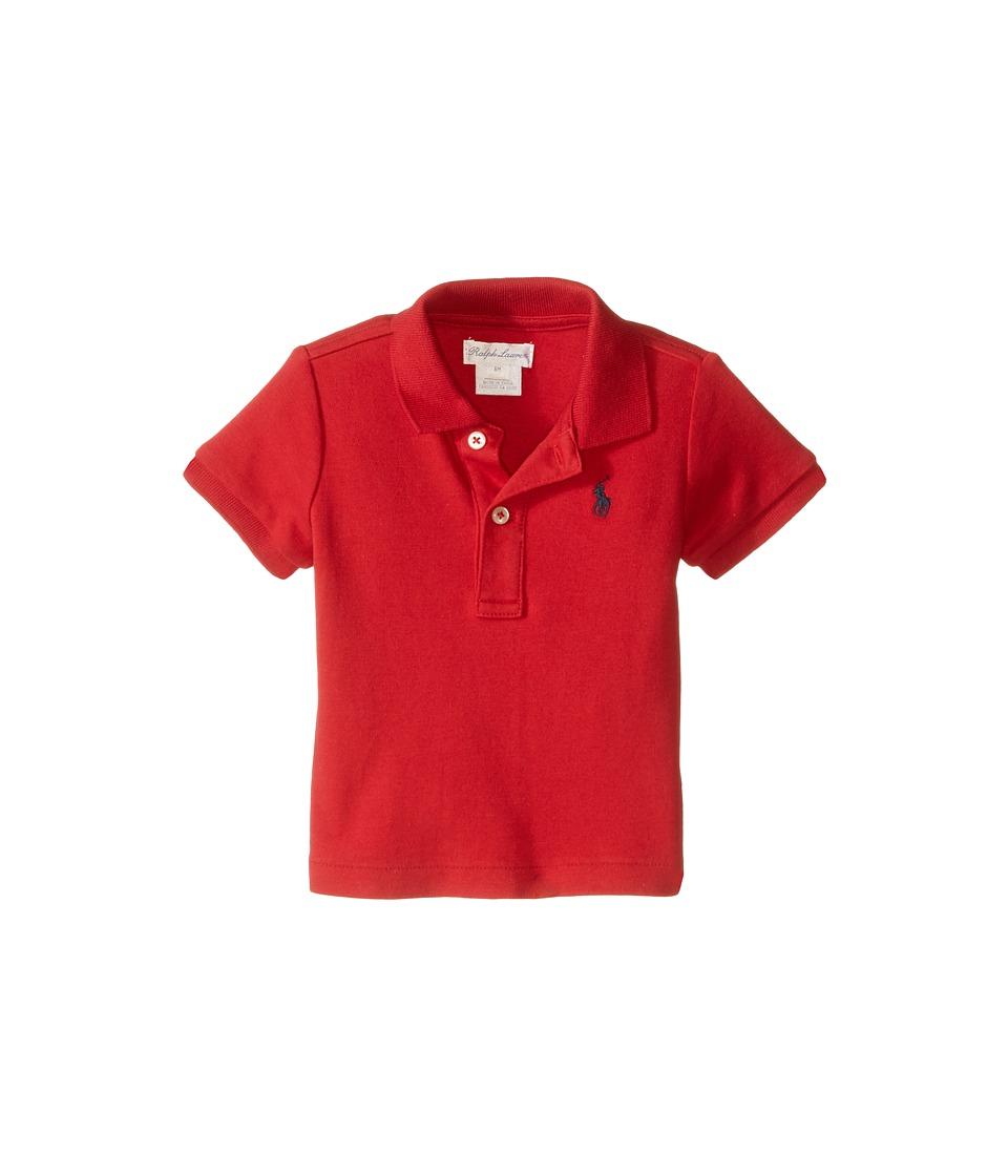 Ralph Lauren Baby - Interlock Knit Polo Shirt
