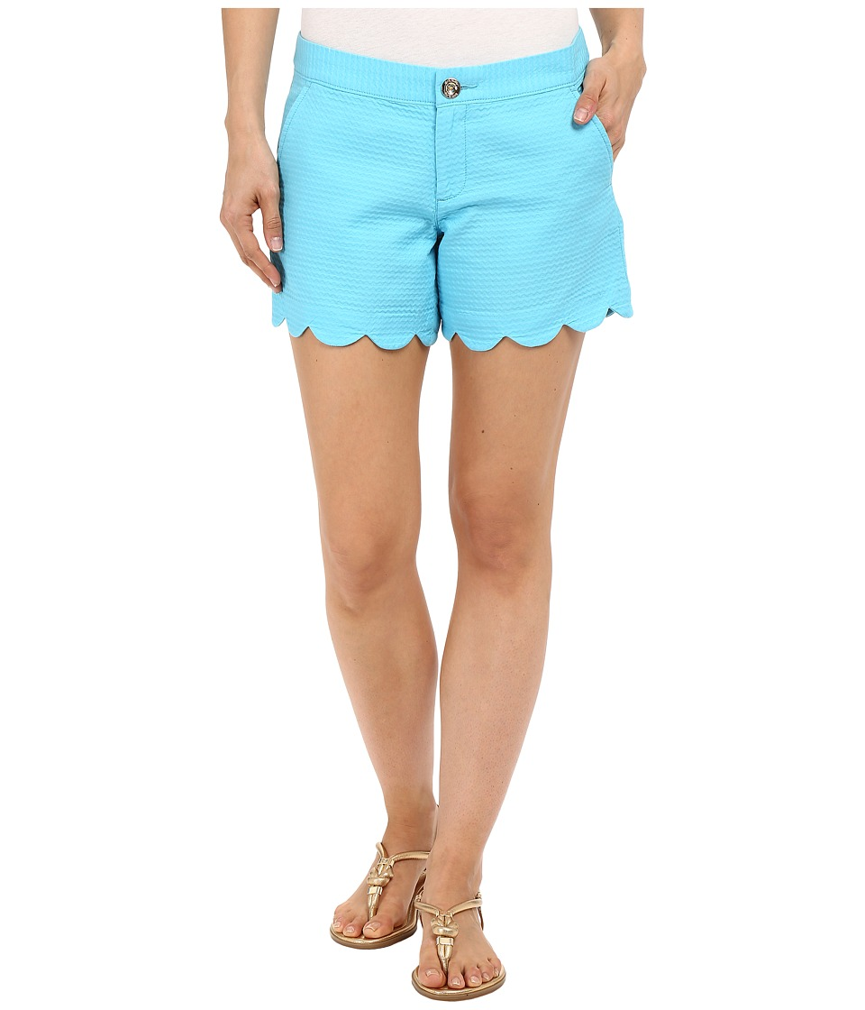 Lilly Pulitzer Buttercup Shorts Pool House Blue Womens Shorts