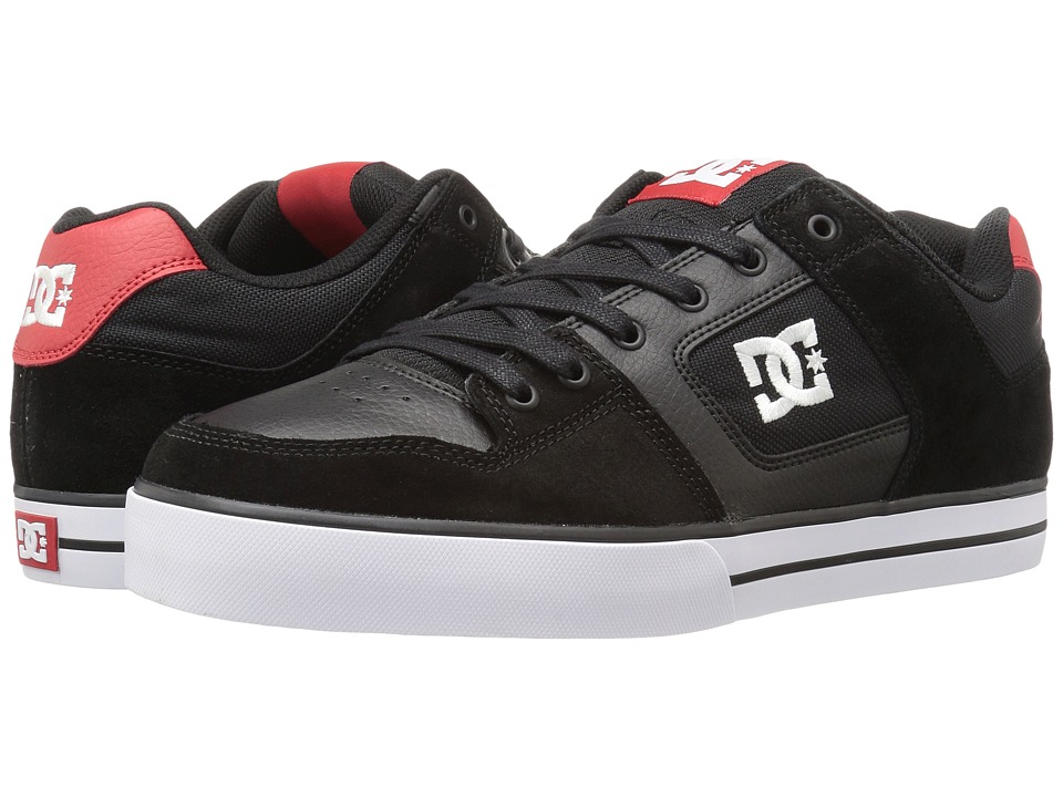 DC Pure (Black/Athletic Red 2) Men