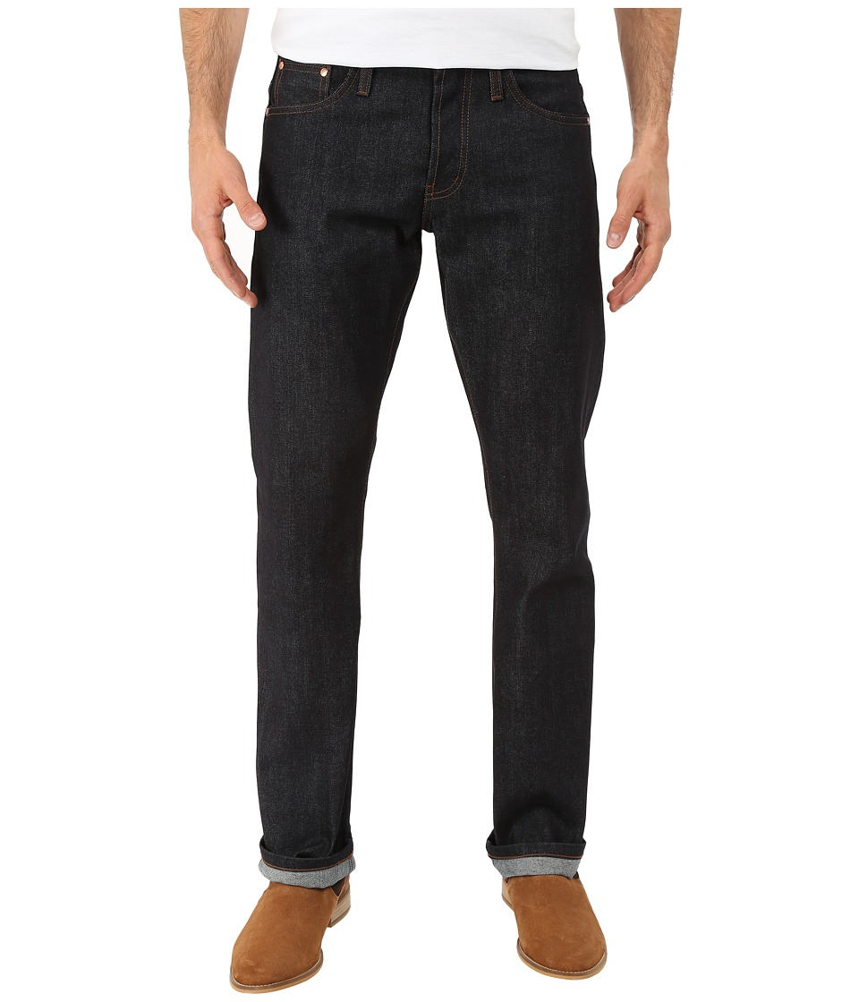 The Unbranded Brand Straight in Indigo Selvedge Indigo Selvedge Mens Jeans