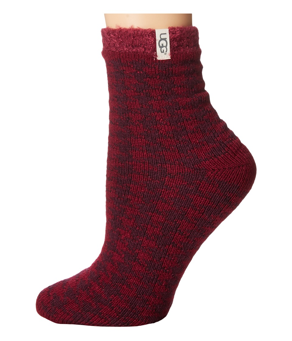 UGG - Houndstooth Fleece Lined Socks (Lonely Hearts) Women