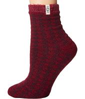 UGG - Houndstooth Fleece Lined Socks
