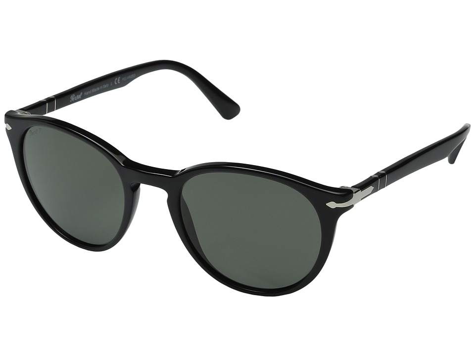Persol - 0PO3152S (Black/Polarized Green) Fashion Sunglasses
