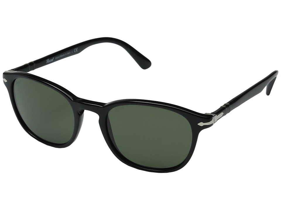 Persol - 0PO3148S (Black/Green) Fashion Sunglasses