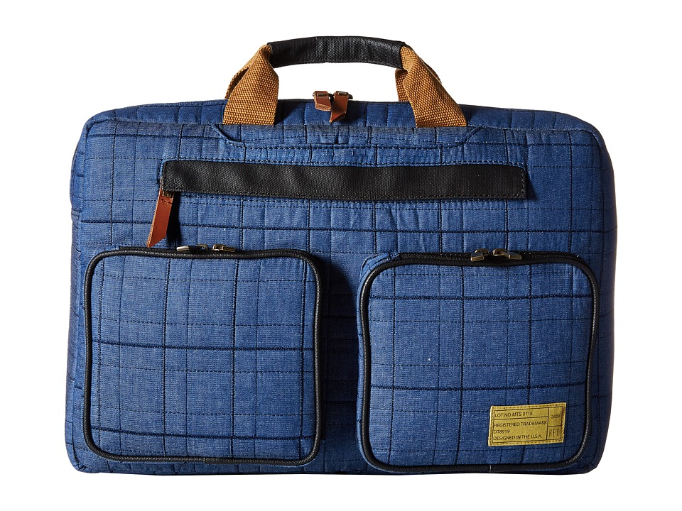 HEX Convertible Briefcase Blue Briefcase Bags