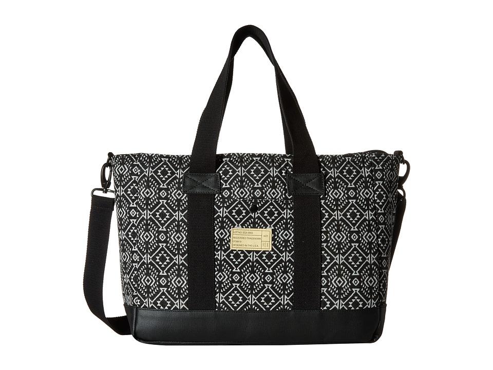 HEX - Work Bag (Black/White) Messenger Bags