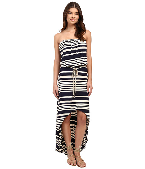 Culture Phit Annia High-Low Dress with Rope Belt