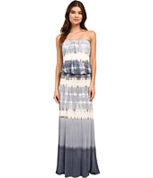 Culture Phit - Erin Strapless Tie-Dye Maxi Dress