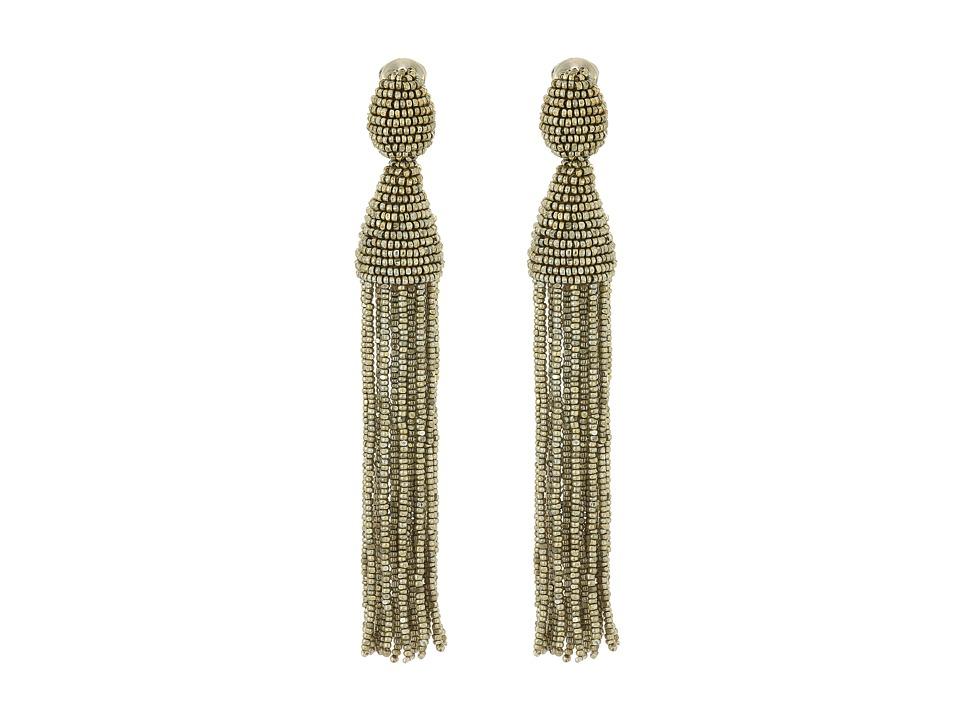 Oscar de la Renta - Classic Long Tassel C Earrings
