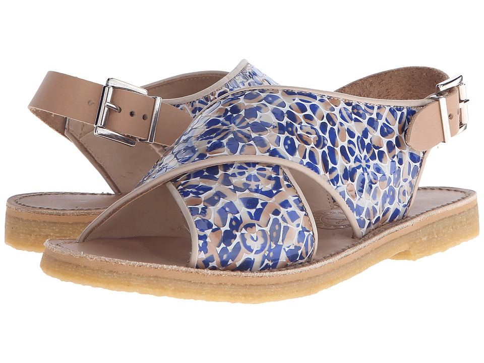 Penelope Chilvers Max Alhambra Blue/White Womens Shoes