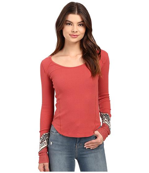 Free People - Bandana Cuff (Red) Women's Clothing