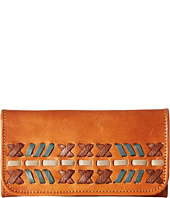 American West - Mohican Melody Trifold Wallet
