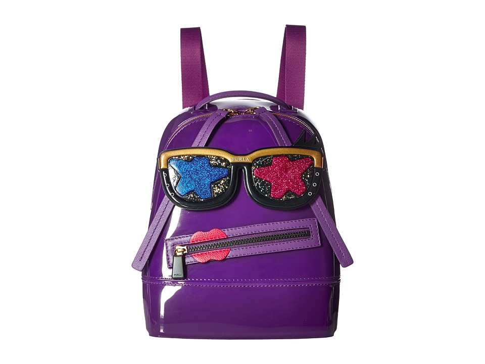 Furla - Candy Gang Mini Backpack (Viola) Backpack Bags