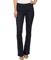 Free People - Slim Flare Trouser Jeans in Denim Blue