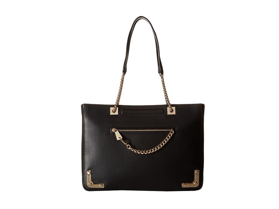 Furla - Diana Large Tote (Onyx) Tote Handbags