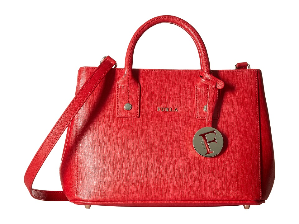 Furla - Linda Mini Tote (Rosso) Tote Handbags