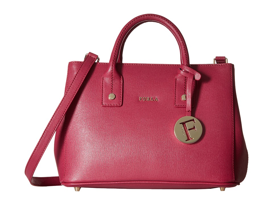 Furla - Linda Mini Tote (Lampone) Tote Handbags