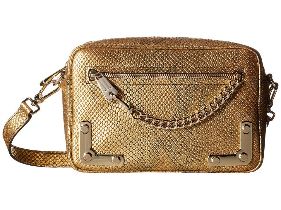 Furla - Diana Small Crossbody (Gold) Cross Body Handbags