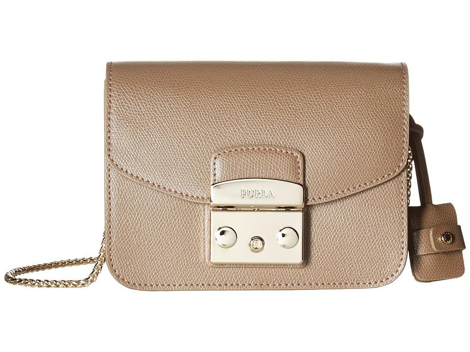Furla - Metropolis Mini Crossbody (Daino 1) Cross Body Handbags