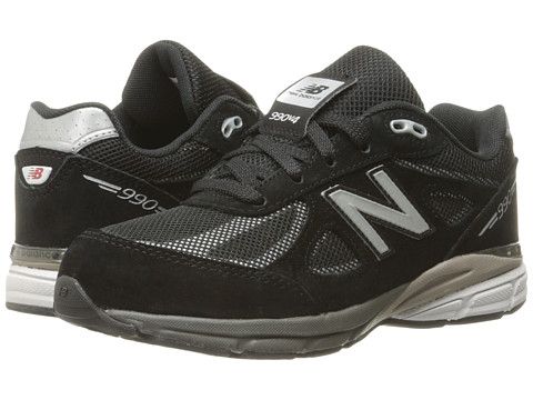 New Balance Kids KL990 (Little Kid) - Black/Silver