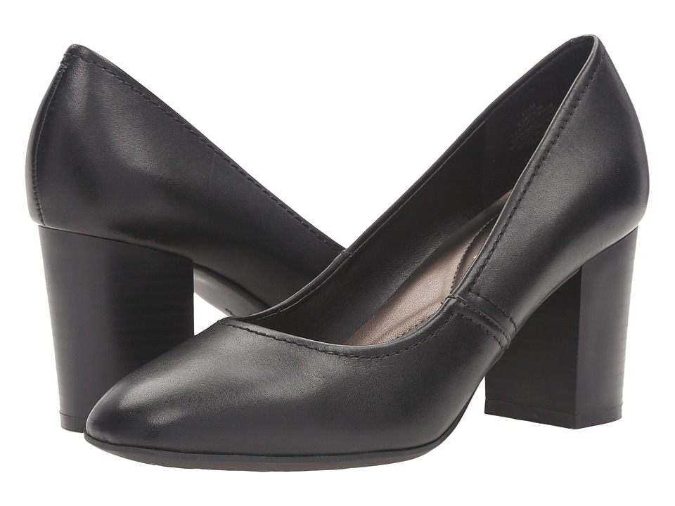 Easy Spirit - Arissa (Black Leather) Women