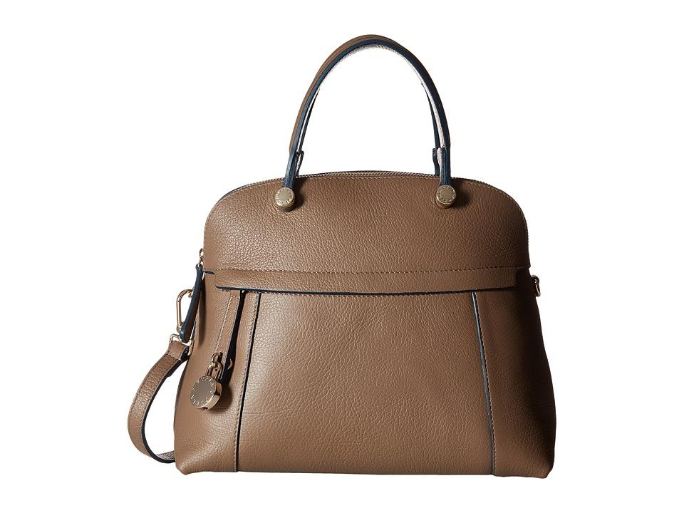 Furla - Piper Medium Dome (Daino) Satchel Handbags