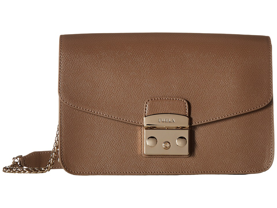 Furla - Metropolis Small Shoulder Bag (Daino) Shoulder Handbags