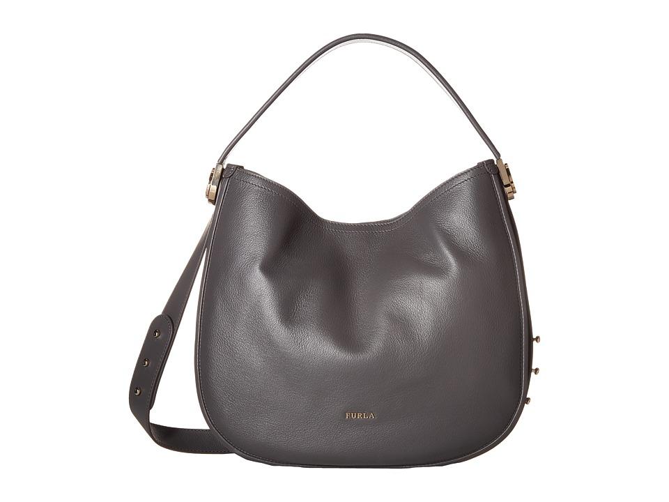 Furla - Luna Medium Hobo (Lava) Hobo Handbags