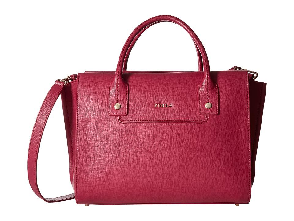 Furla - Linda Medium Carryall (Lampone) Handbags