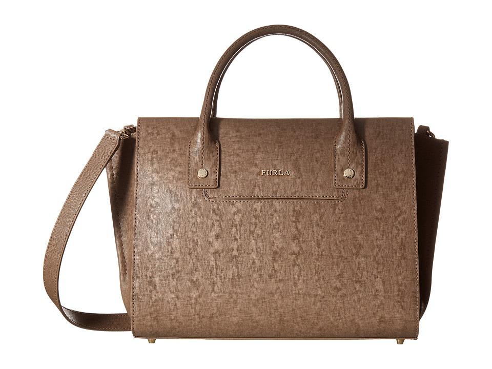 Furla - Linda Medium Carryall (Daino) Handbags