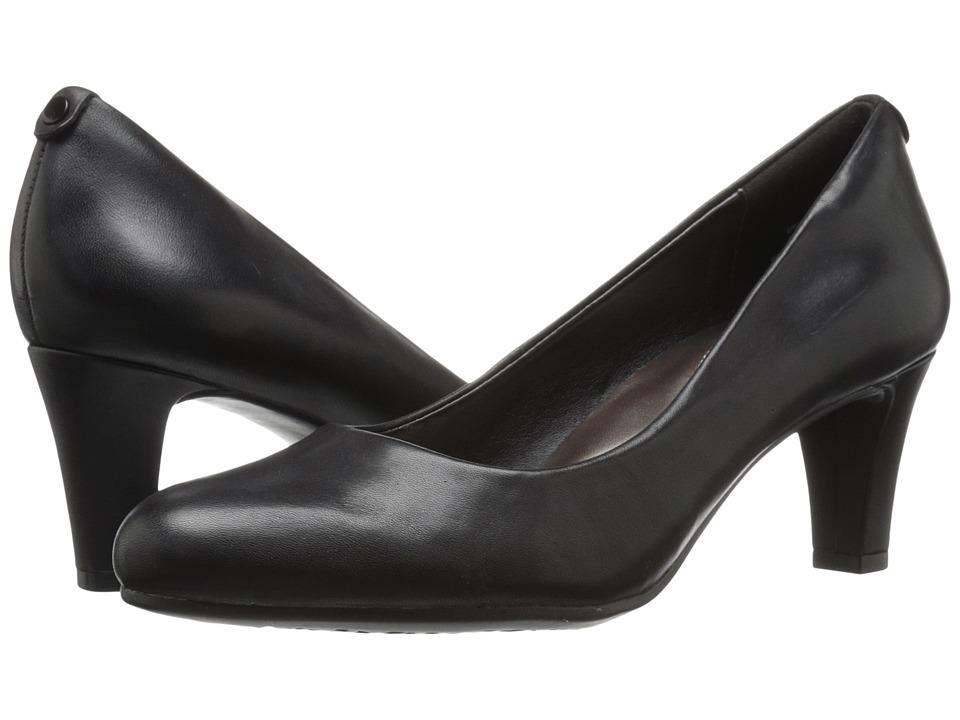 Easy Spirit Avalyn (Black Leather) Women