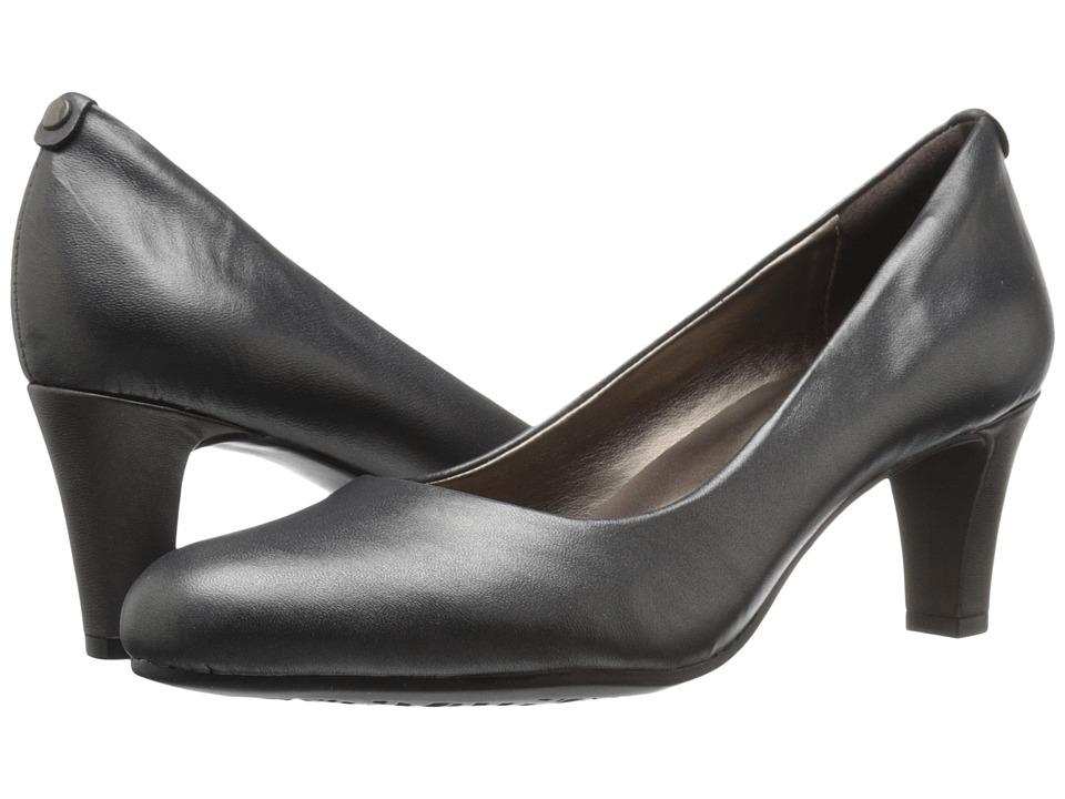 Easy Spirit Avalyn (Dark Pewter Leather) Women