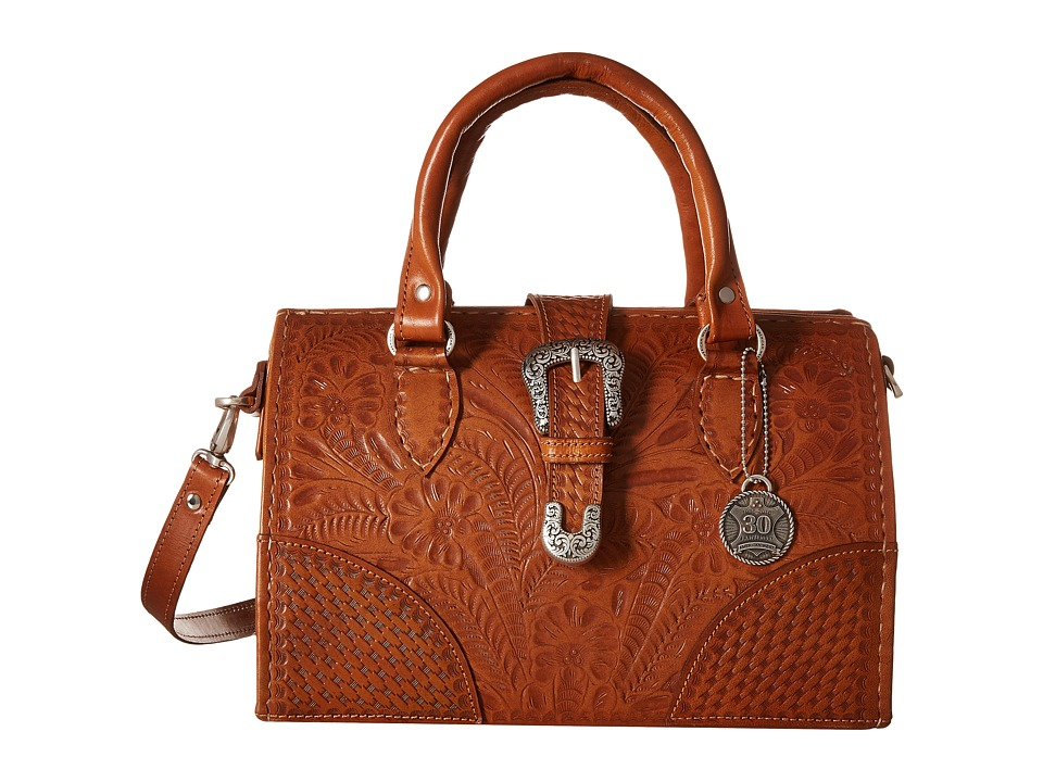 American West - American West 30th Anniversary Commemorative Collection Medium Coach Bag (Golden Tan) Bags