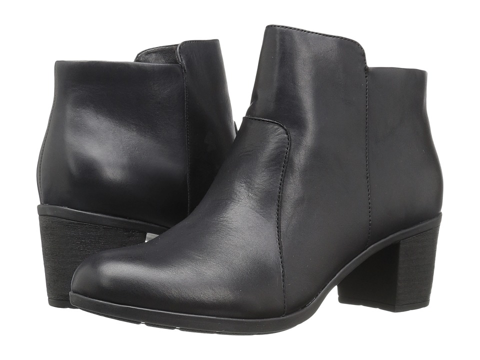 Easy Spirit Billian (Black Leather) Women