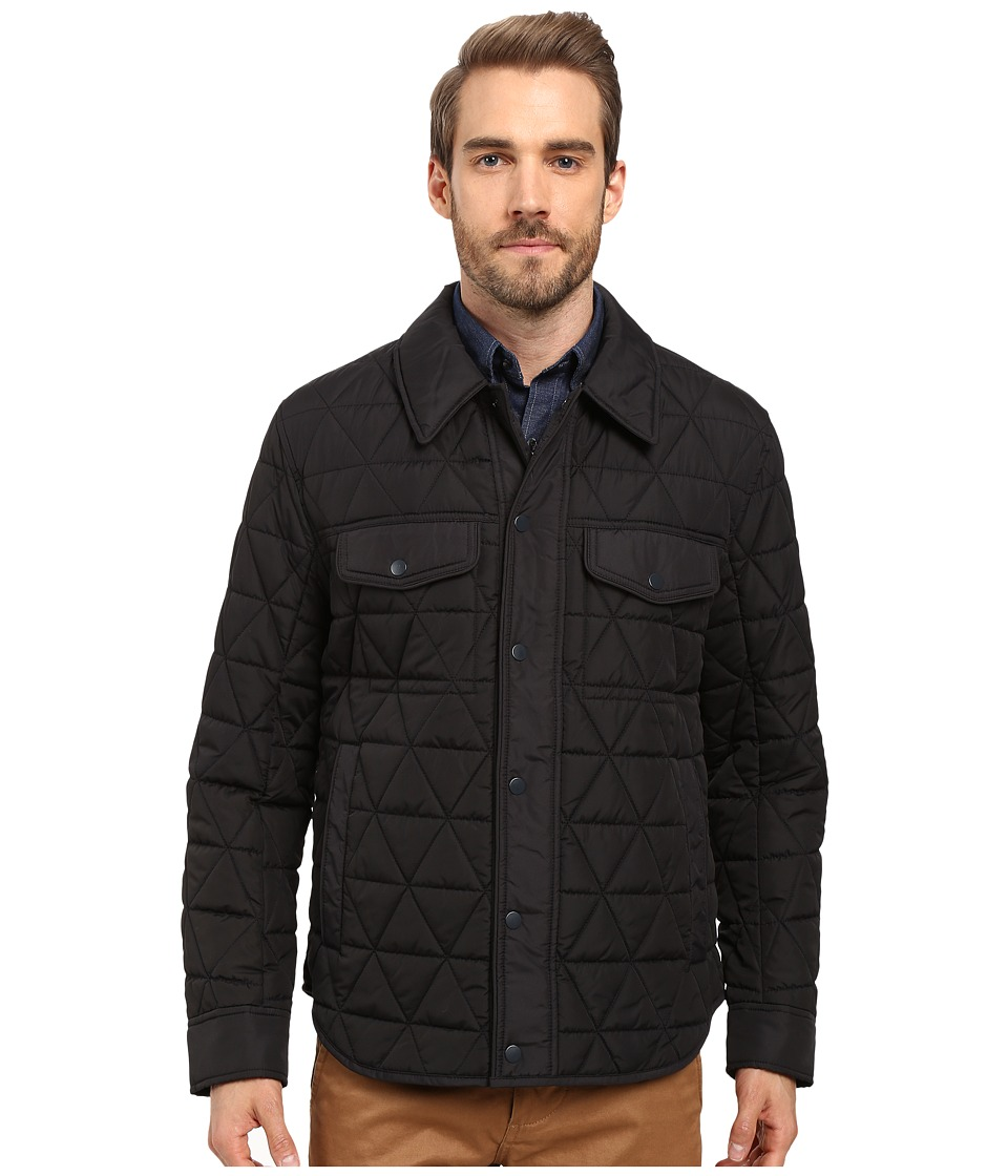 Marc New York by Andrew Marc - Medford Poly Fill Shirt Jacket (Black) Mens Jacket