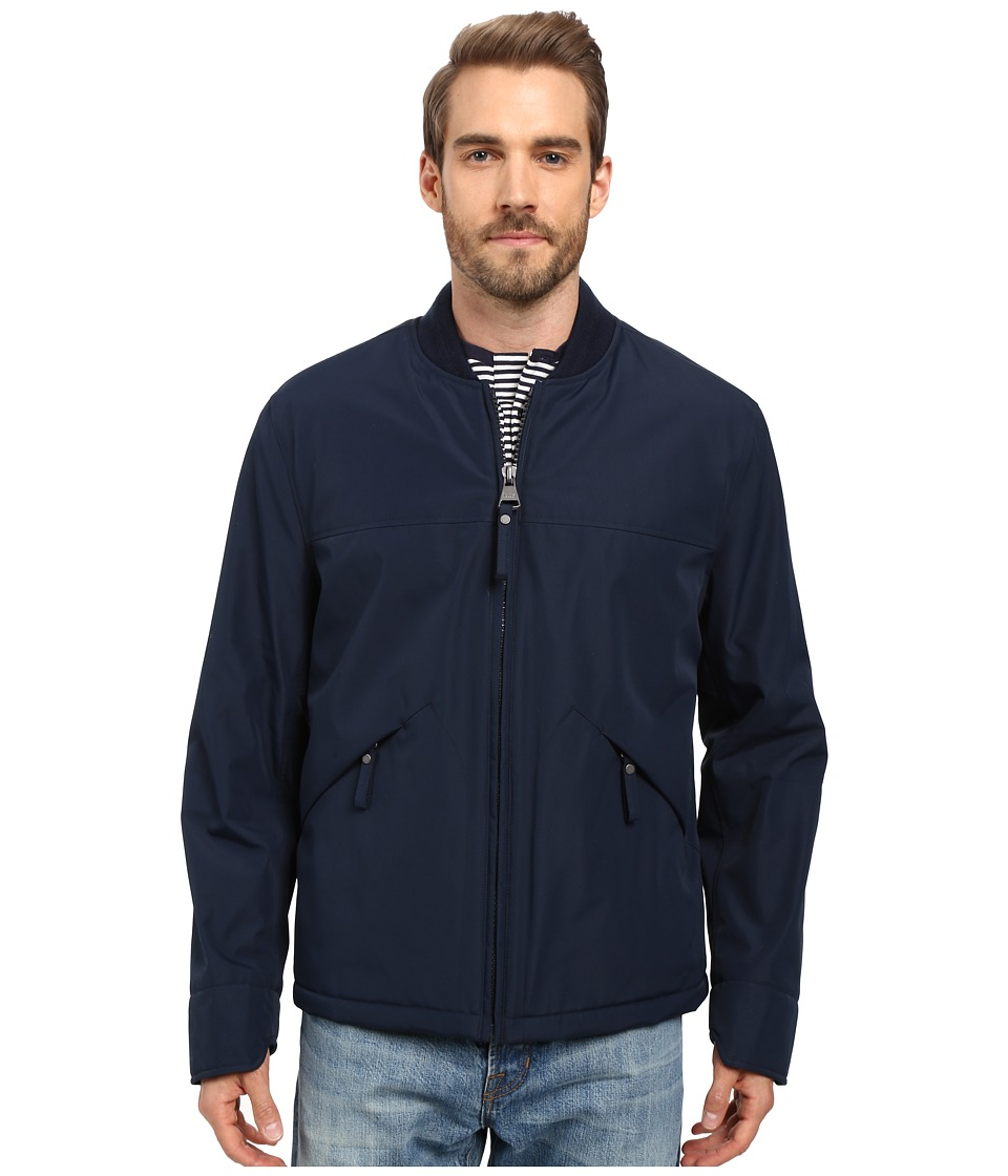 Marc New York by Andrew Marc Dalton Rain Bomber Jacket (Ink) Men
