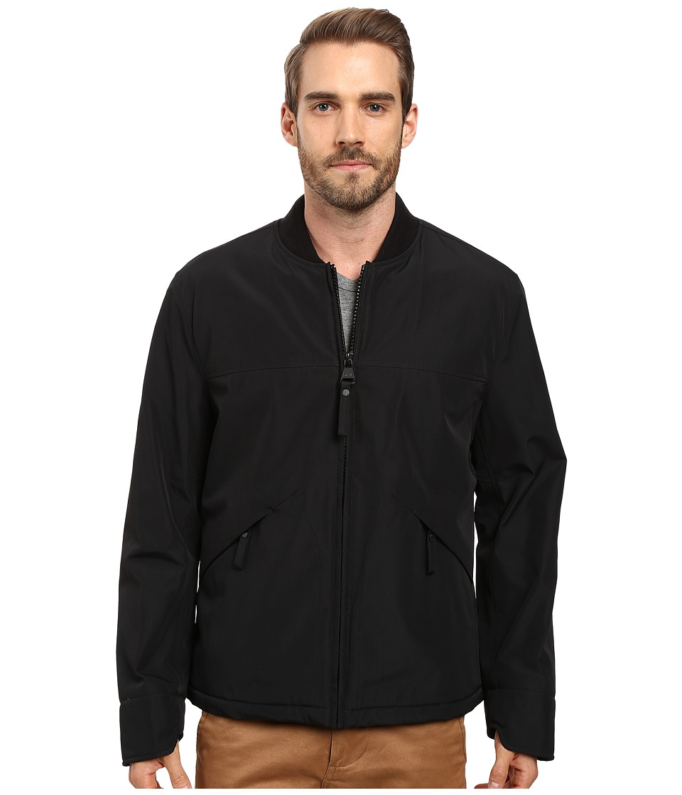Marc New York by Andrew Marc Dalton Rain Bomber Jacket (Black) Men