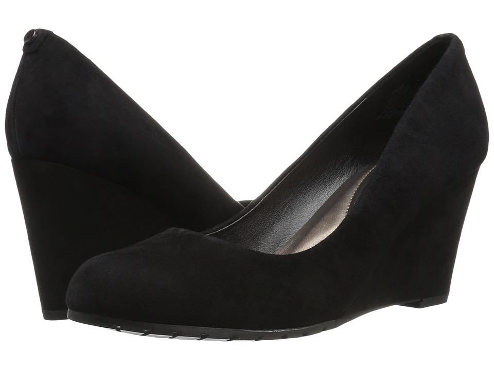 Easy Spirit - Clauda (Black Suede) Women