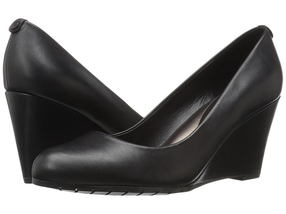Easy Spirit - Clauda (Black Leather) Women