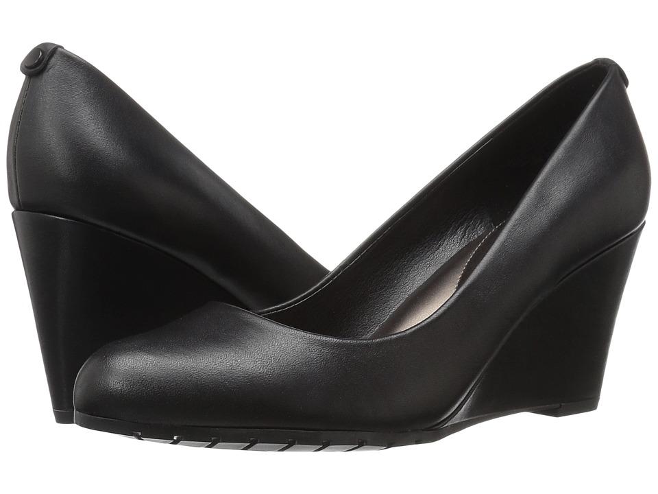 Easy Spirit - Clauda (Black Leather) Women