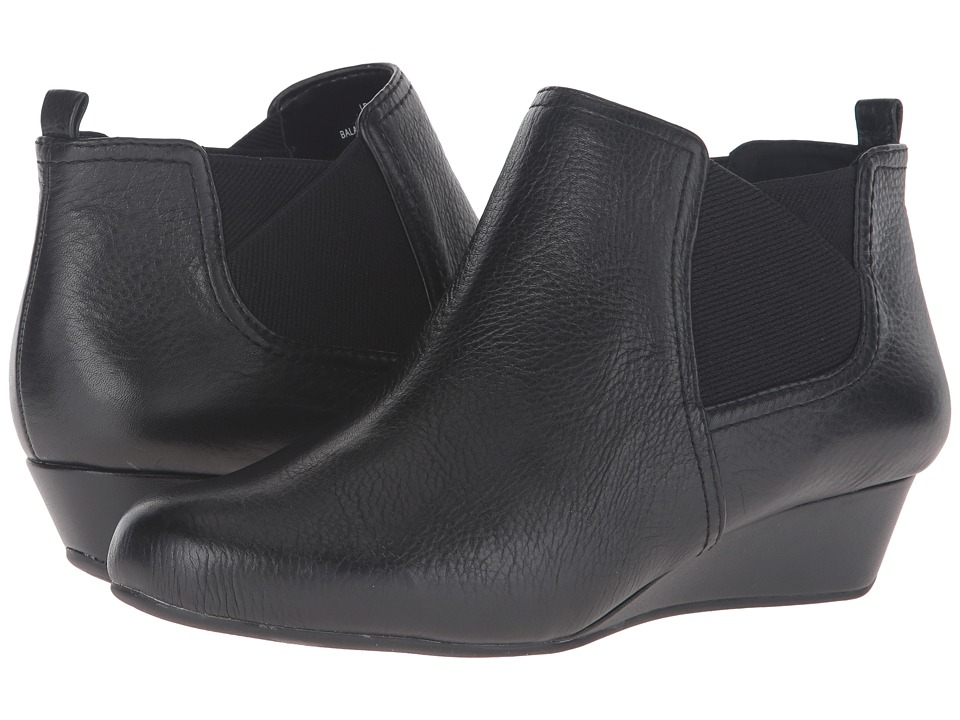 Easy Spirit - Dalena (Black/Black Leather) Women