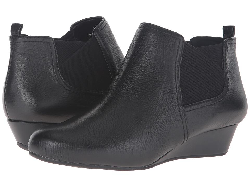 Easy Spirit Dalena (Black/Black Leather) Women