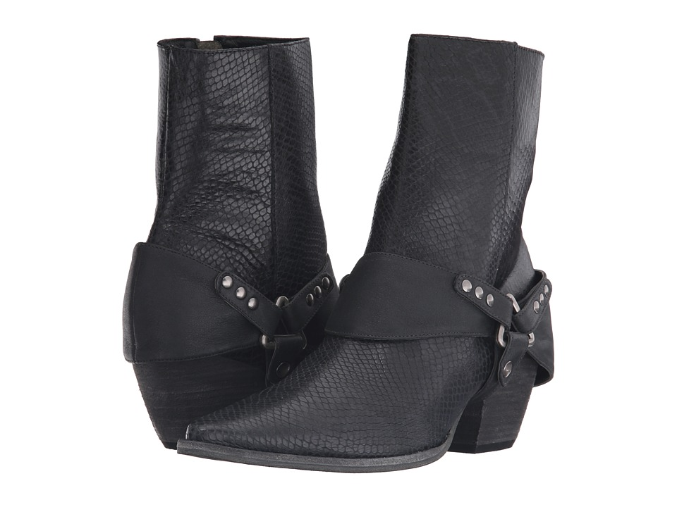 Matisse - Understated Leather I Rattlesnake (Black Leather) Women