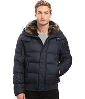 Marc New York by Andrew Marc - Rockingham Down Bomber w/ Removable Faux Fur Collar & Hood