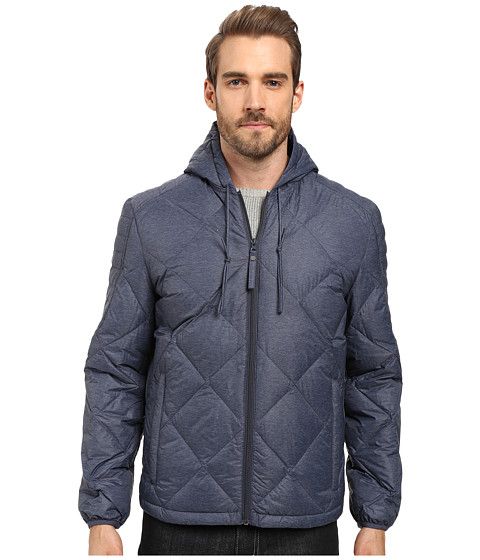 Marc New York by Andrew Marc Appleton Packable Down Hooded Jacket - Ink