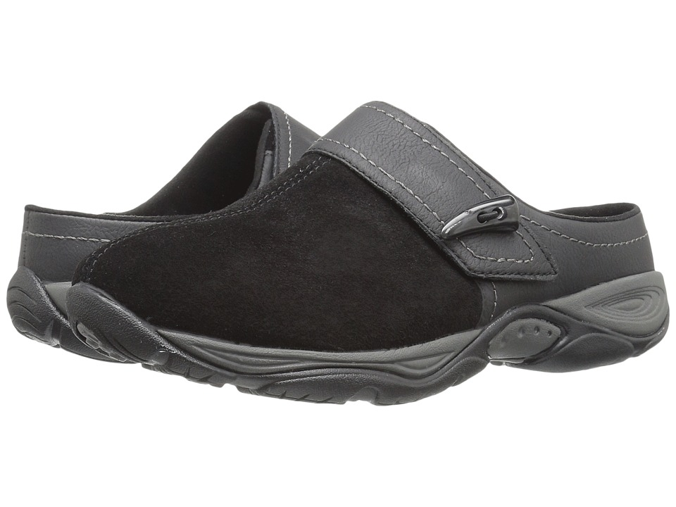 Easy Spirit - Eliana (Black/Black Suede) Women