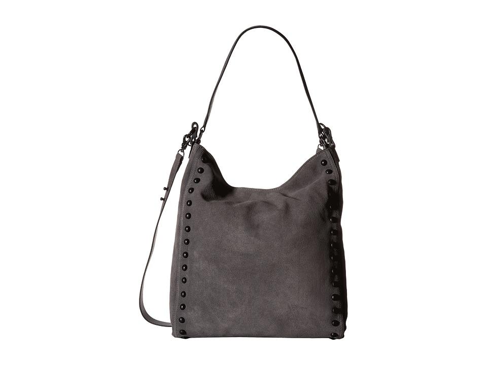 Loeffler Randall - Hobo (Dark Grey/Black) Hobo Handbags