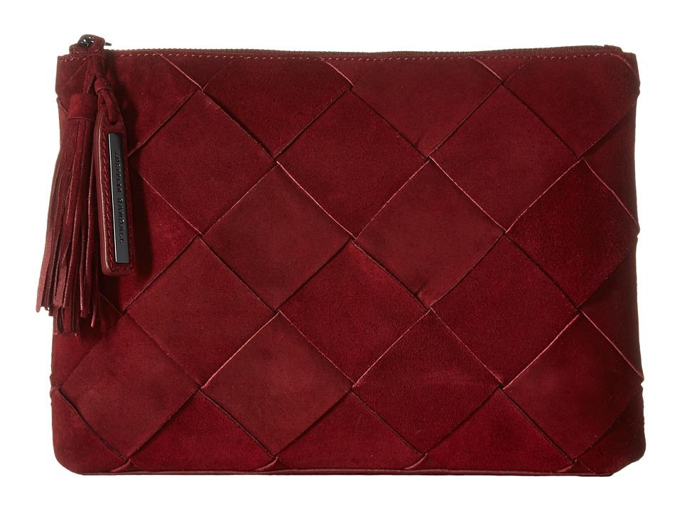 Loeffler Randall - Tassel Pouch (Port) Clutch Handbags